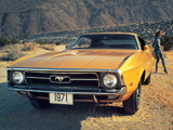 Mustang Sportsroof 1971 images