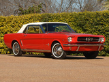 Pictures of Mustang Convertible 1964