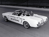 Pictures of Mustang Convertible Indy 500 Pace Car 1964