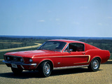 Pictures of Mustang GT Fastback 1968