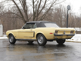 Pictures of Mustang GT Convertible 1968