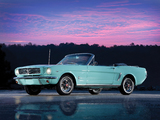 Mustang Convertible 1965 wallpapers