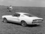 Mustang GT Fastback 1967 wallpapers