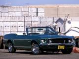 Mustang Convertible 1969 wallpapers