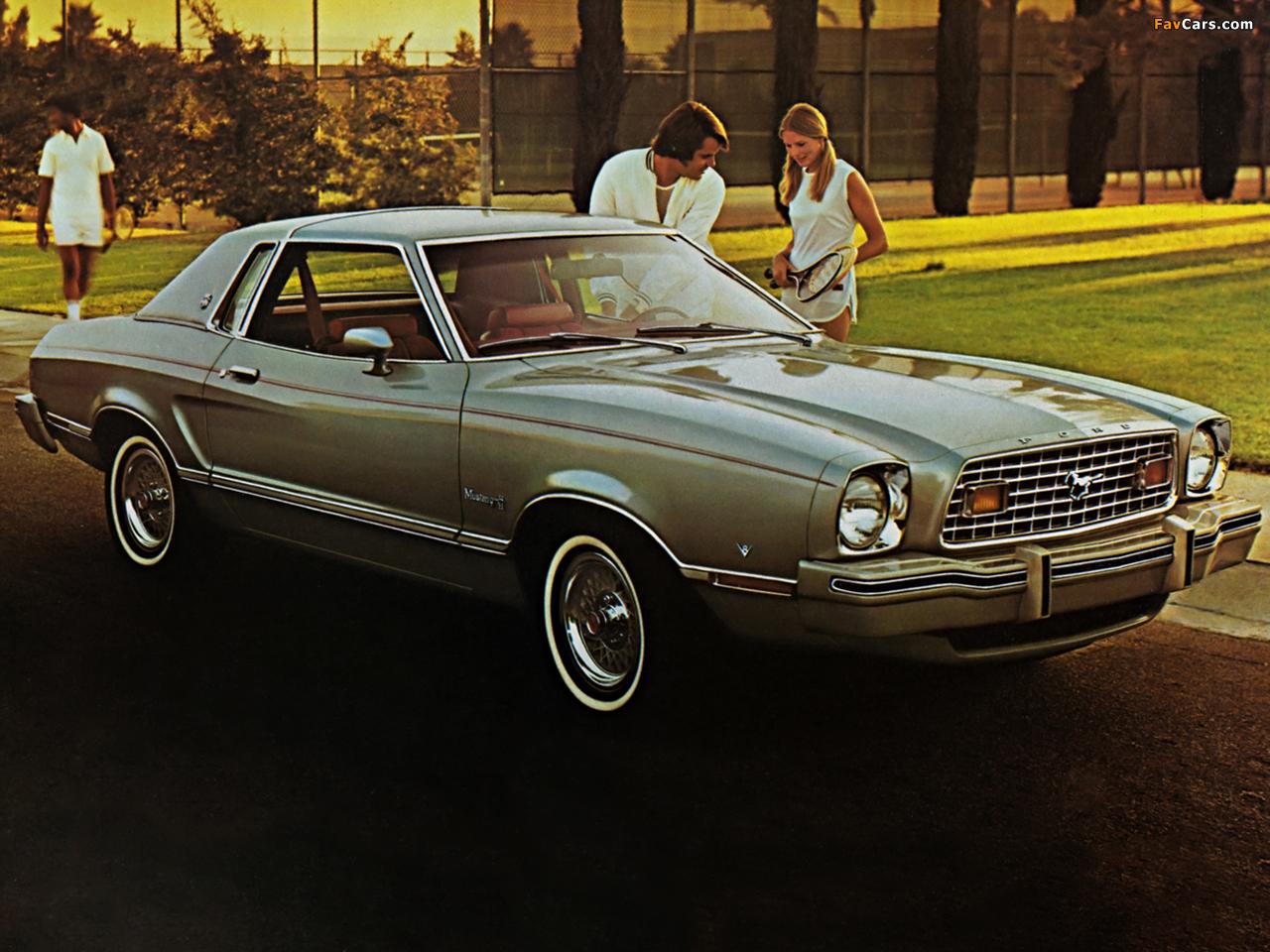Mustang mpg ghia hardtop 1976 photos 1280 x 960