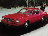 Mustang II MPG Hardtop 1976 wallpapers