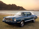 Mustang II Coupe 1977–78 images