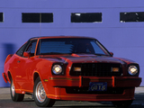 Mustang II King Cobra T-Roof 1978 photos