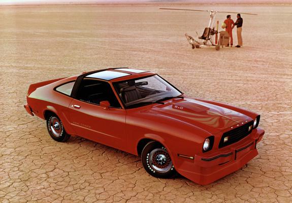 Mustang King Cobra T Roof 1978 Wallpapers
