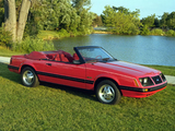Images of Mustang GT 5.0 Convertible 1983