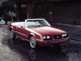 Mustang Convertible 1982–85 photos