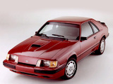 Mustang SVO 1984–86 photos