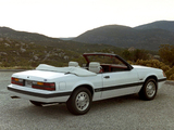 Mustang GT 5.0 Convertible 1985 images