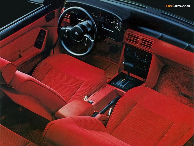 Mustang GT 5.0 1987–93 wallpapers (800 x 600)
