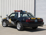 Mustang SSP Police 1992 photos