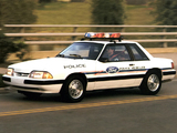Mustang SSP Police 1993 images