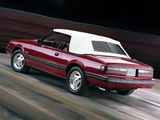 Photos of Mustang GT 5.0 Convertible 1983