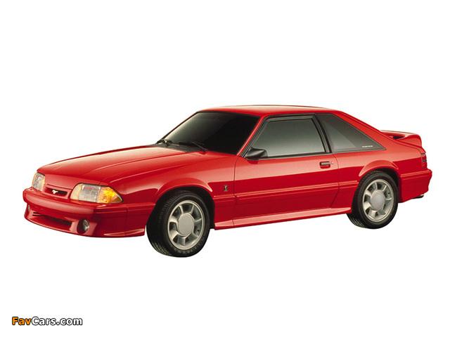 Photos of Mustang GT 5.0 1987–93 (640 x 480)