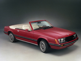 Pictures of Mustang Convertible 1982–85