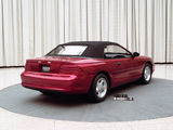 Mustang Convertible Prototype 1991 wallpapers