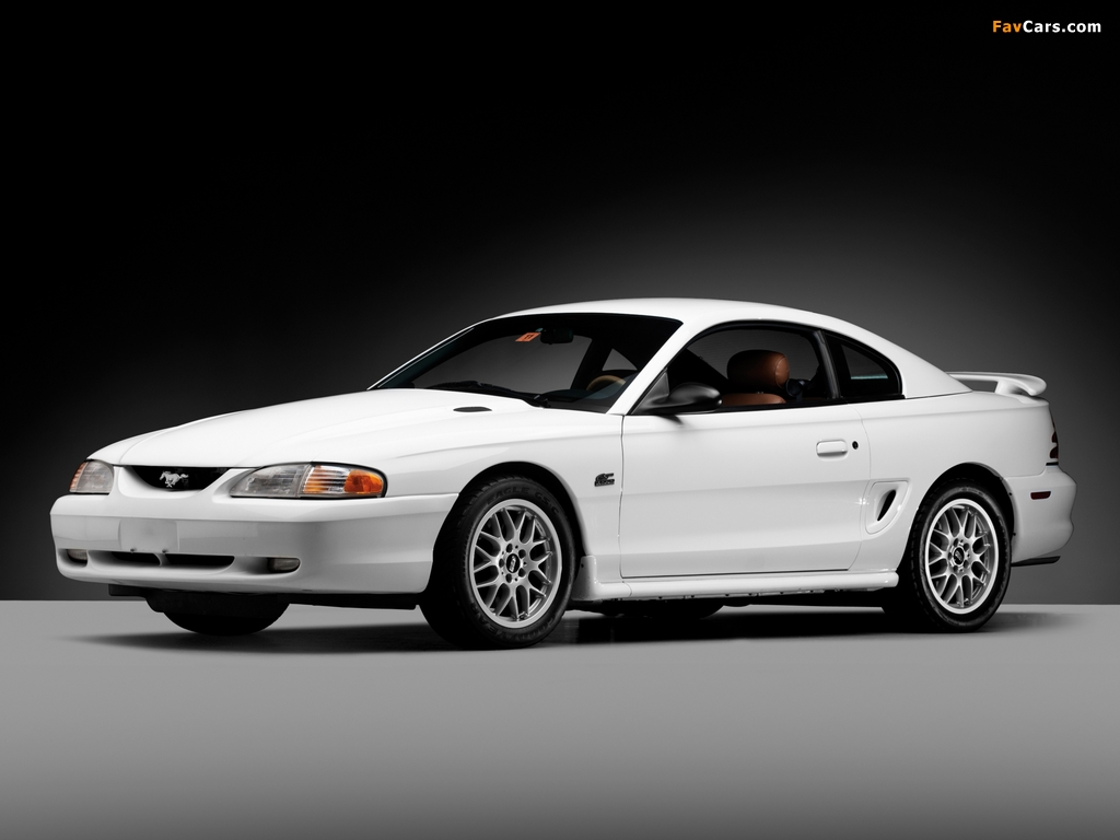 Mustang GT Coupe 1993–96 images (1024 x 768)