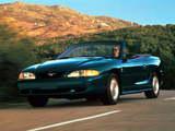 Mustang Convertible 1993–98 photos