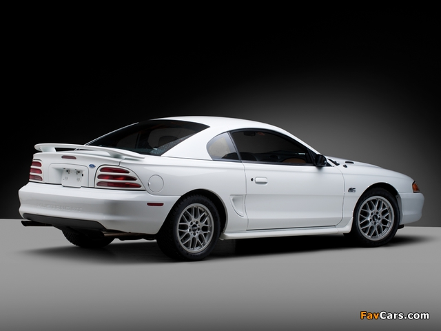 Mustang GT Coupe 1993–96 wallpapers (640 x 480)