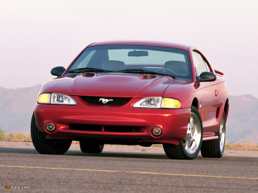 Mustang SVT Cobra Coupe 1996–98 images (1024 x 768)