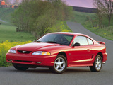Mustang GT Coupe 1996–98 pictures