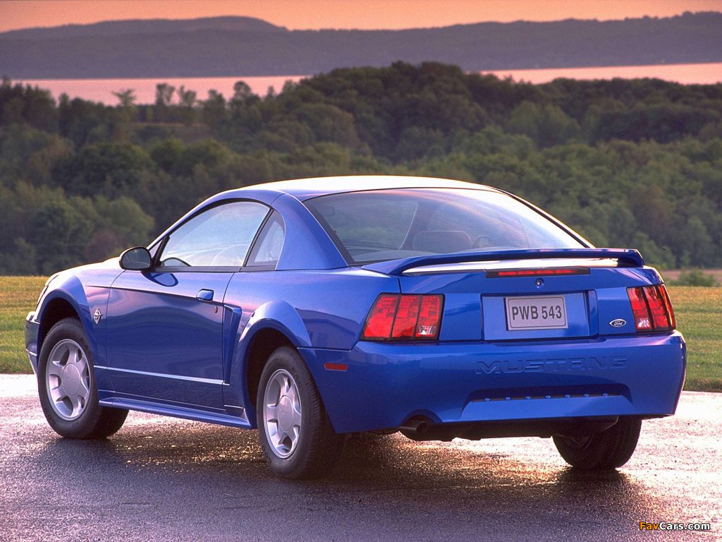 Mustang GT Coupe 1998–2004 pictures (1024 x 768)