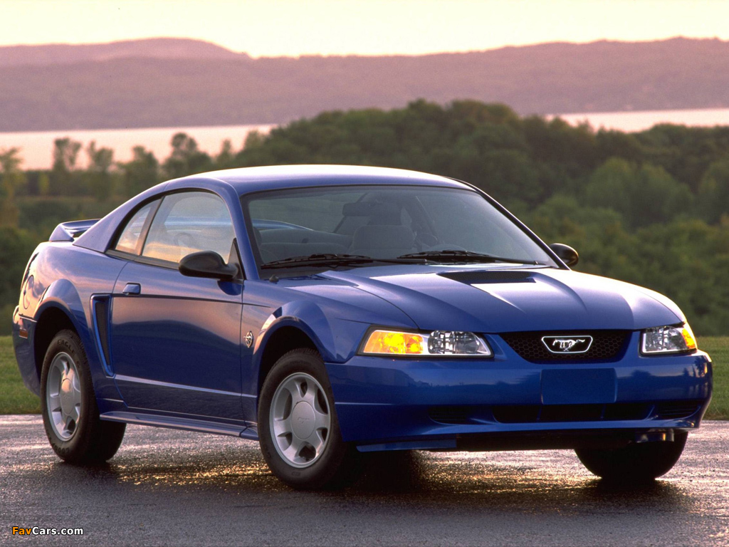 Mustang GT Coupe 1998–2004 wallpapers (1024 x 768)