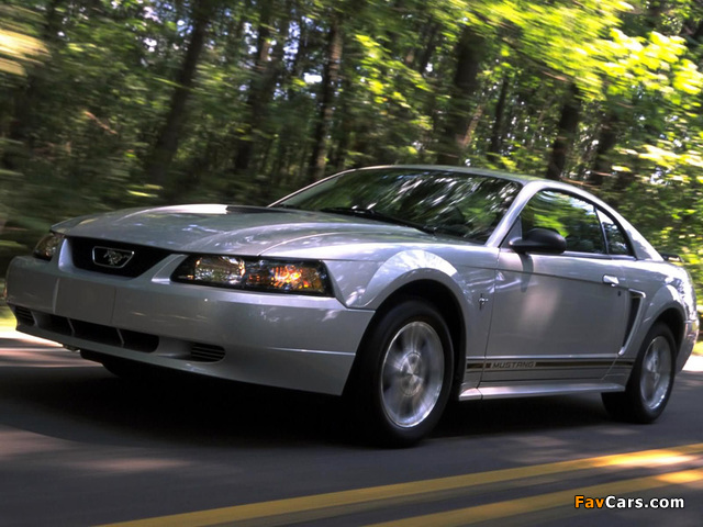 Mustang GT Coupe 1998–2004 wallpapers (640 x 480)