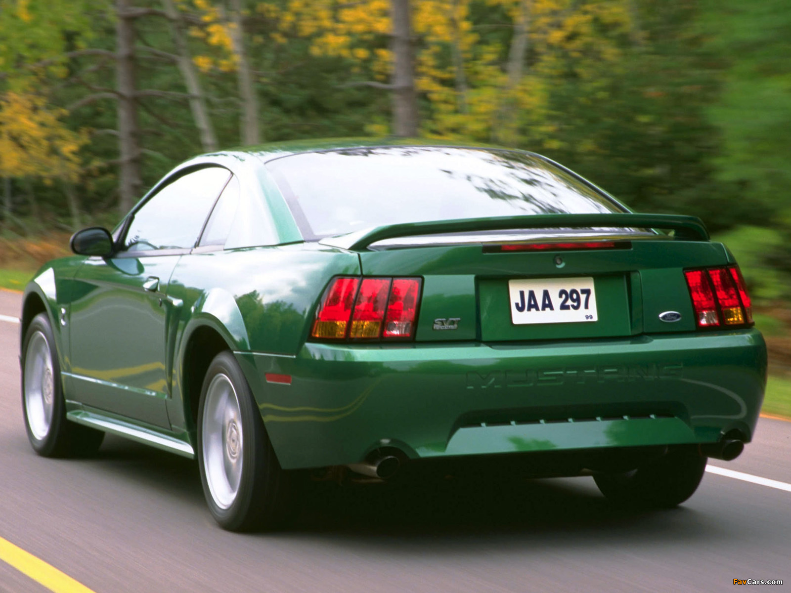 Mustang SVT Cobra Coupe 1999–2002 images (1600 x 1200)