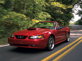 Mustang GT Convertible 1999–2004 images