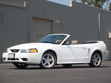Mustang SVT Cobra Convertible 1999–2002 wallpapers
