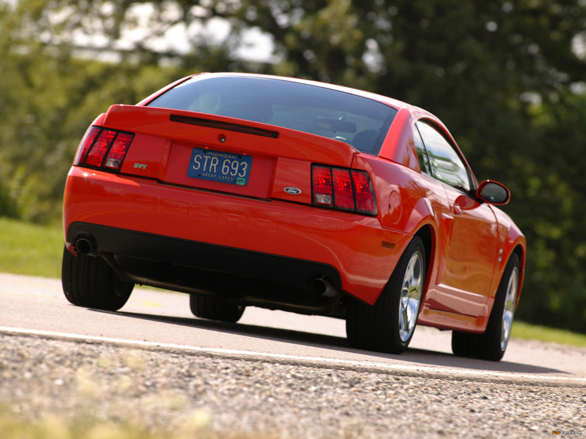 Mustang SVT Cobra Coupe 2002–04 wallpapers (2048 x 1536)