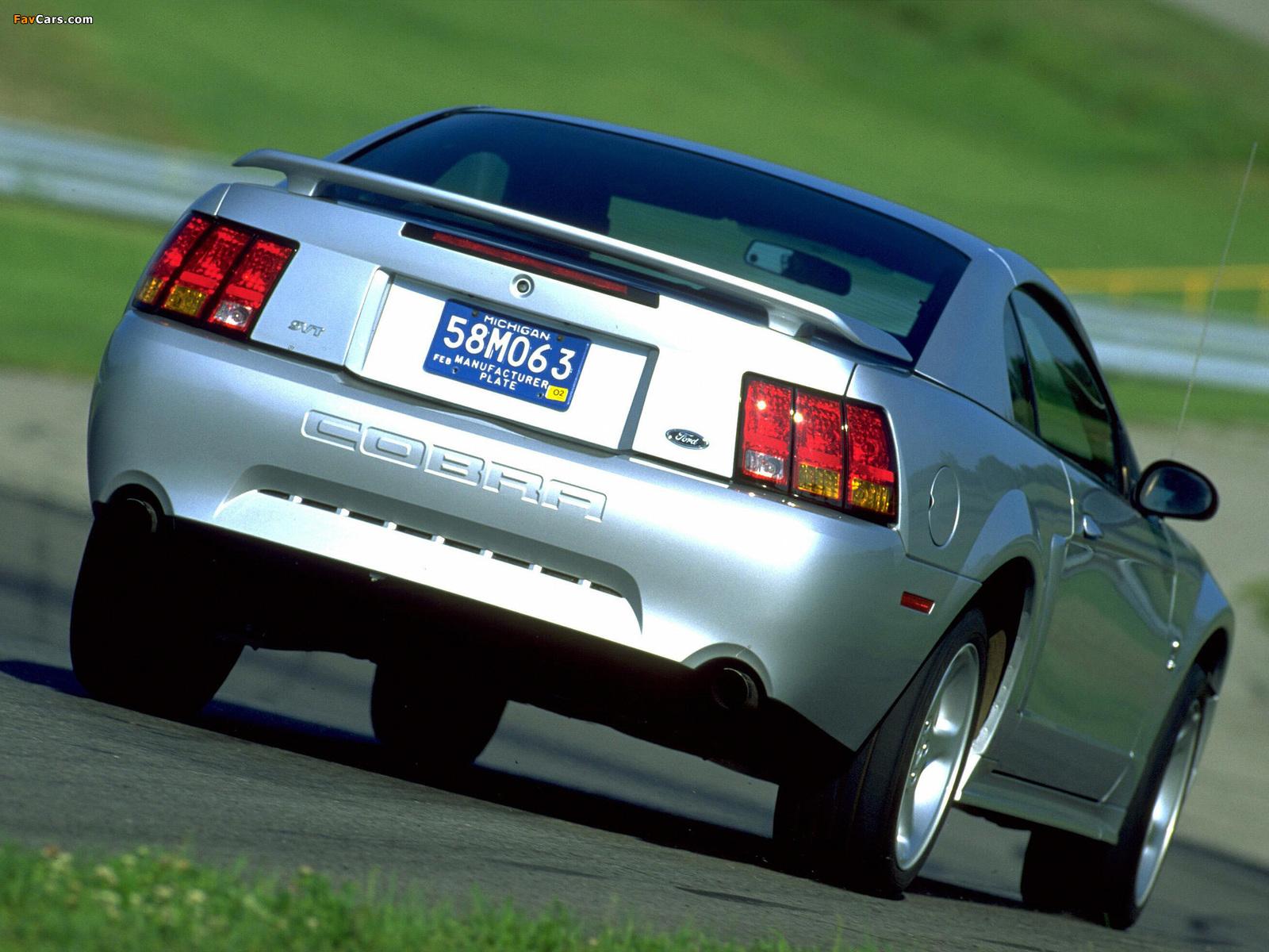 Photos of Mustang SVT Cobra Coupe 1999–2002 (1600 x 1200)