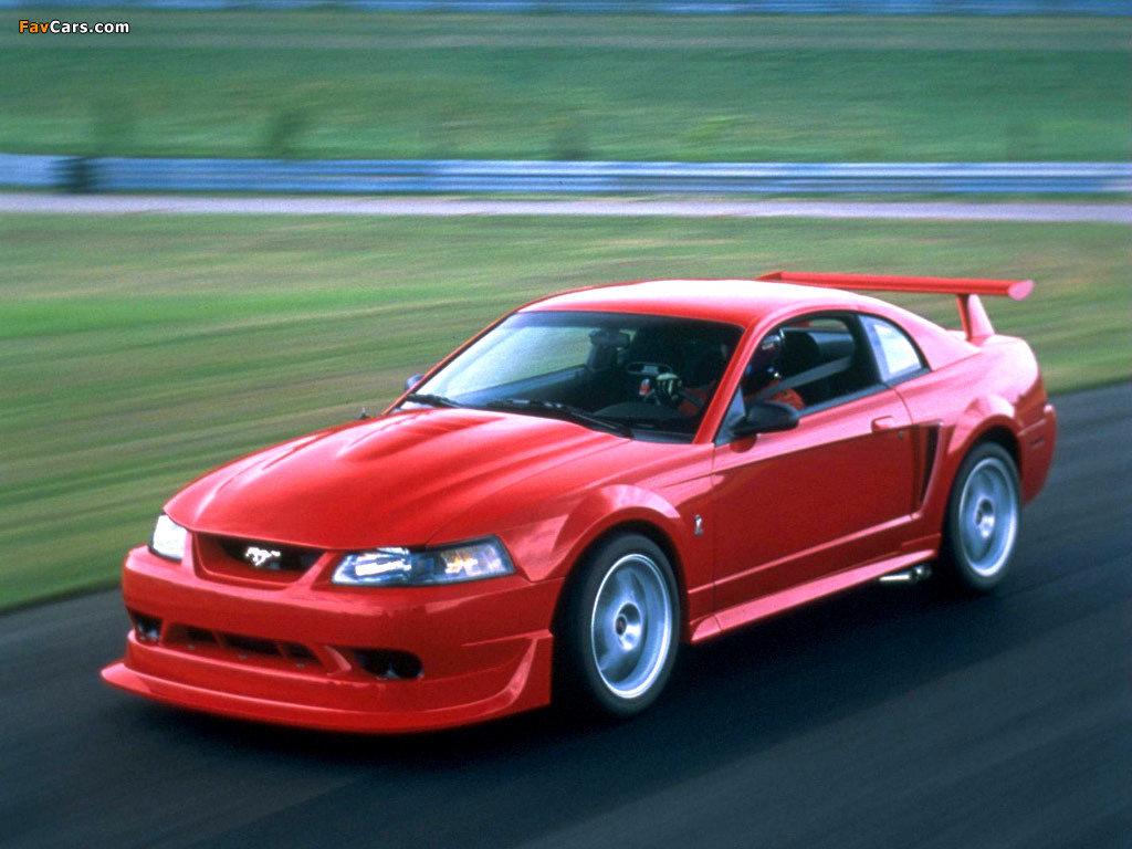Photos of Mustang SVT Cobra R 2000–04 (1024 x 768)