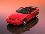 Photos of Mustang SVT Cobra Convertible 2002–04