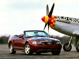 Photos of Mustang Convertible 40th Anniversary 2004