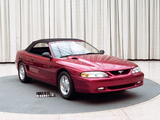 Pictures of Mustang Convertible Prototype 1991