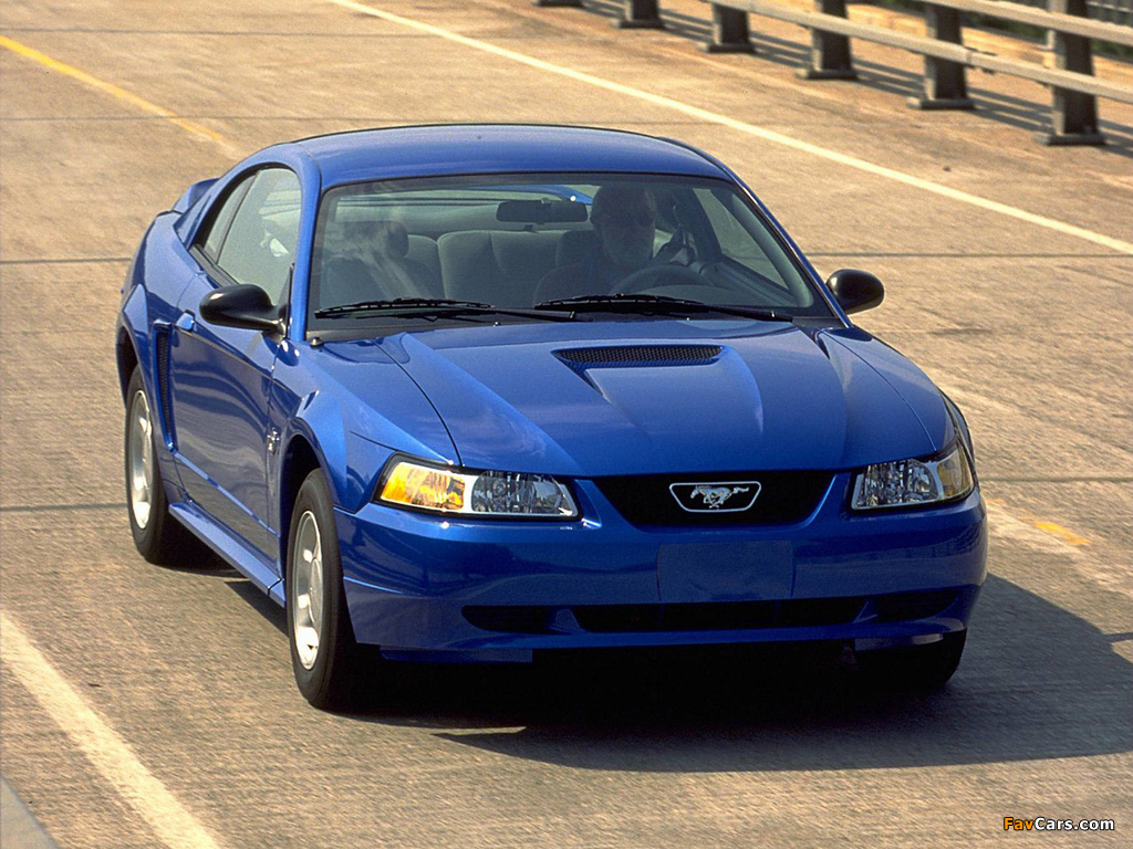 Pictures of Mustang GT Coupe 1998–2004 (1024 x 768)