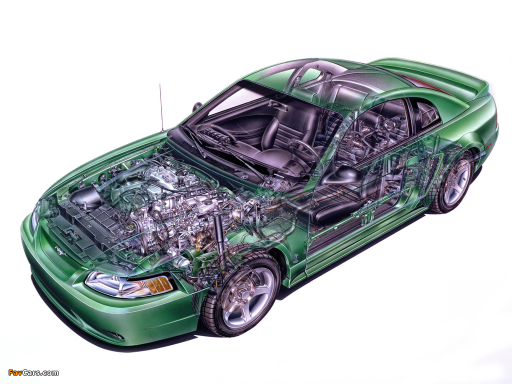 Pictures of Mustang SVT Cobra Coupe 1999–2002 (1024 x 768)