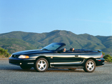 Mustang Convertible 1993–96 wallpapers