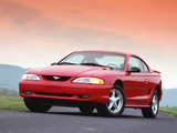 Mustang GT Coupe 1996–98 wallpapers
