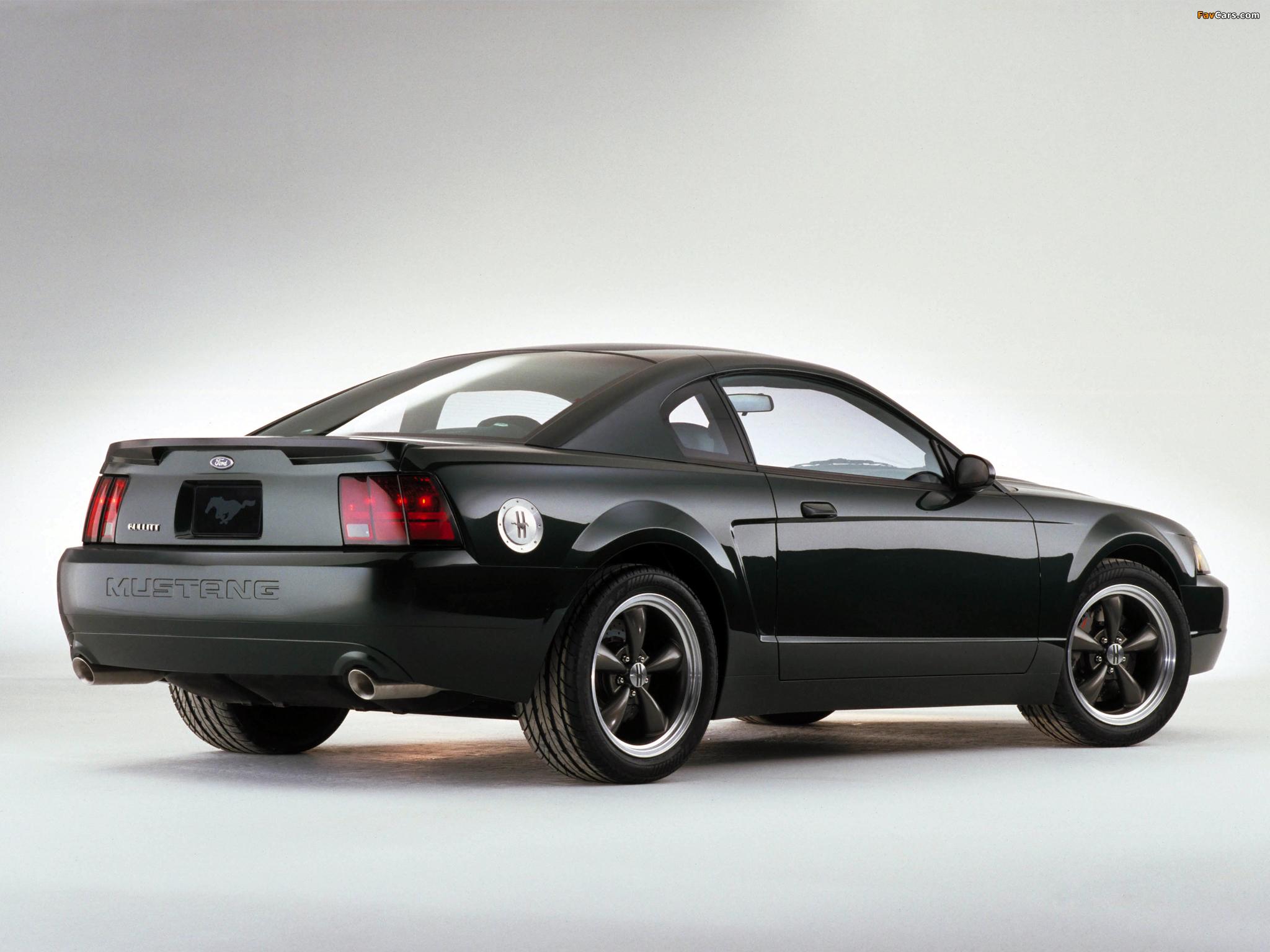 Mustang Bullitt GT Concept 2000 wallpapers (2048 x 1536)