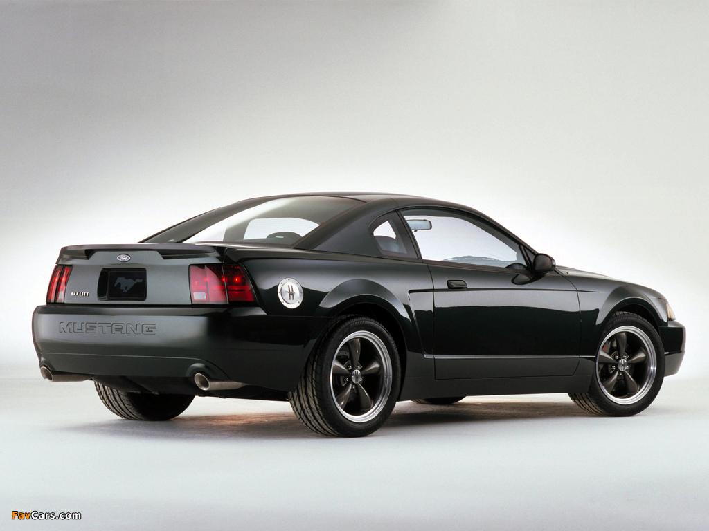 Mustang Bullitt GT Concept 2000 wallpapers (1024 x 768)