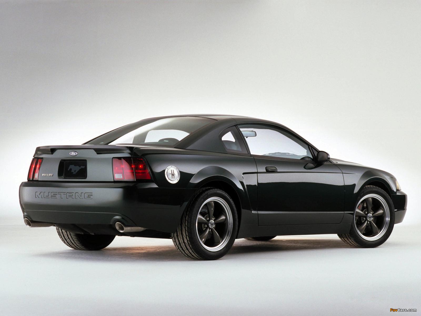 Mustang Bullitt GT Concept 2000 wallpapers (1600 x 1200)