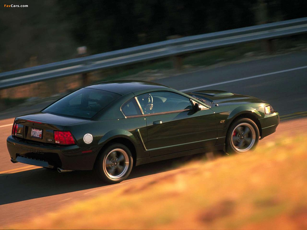 Mustang Bullitt GT 2001 wallpapers (1280 x 960)