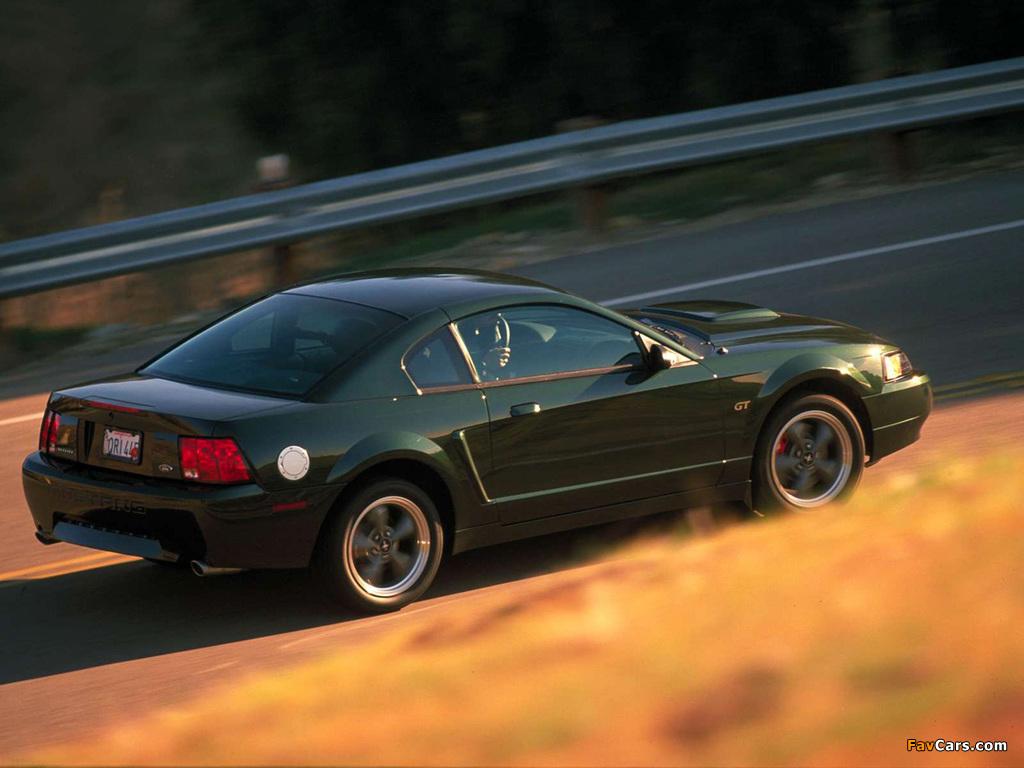Mustang Bullitt GT 2001 wallpapers (1024 x 768)